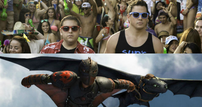 Fotor061682320 ​Box Office: Why Did 22 Jump Street Win Against How to Train Your Dragon 2?