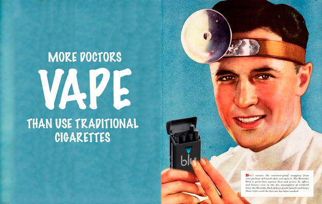 Doctors urge the World Health Organization to lighten up on e-cigs