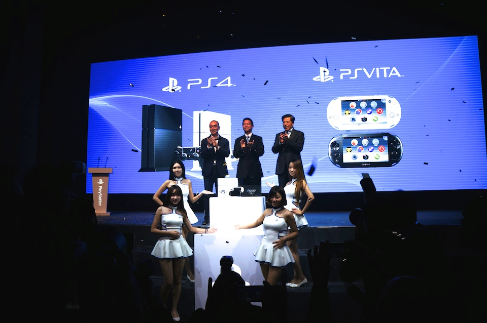 PlayStation 4 And Vita Arrive In China