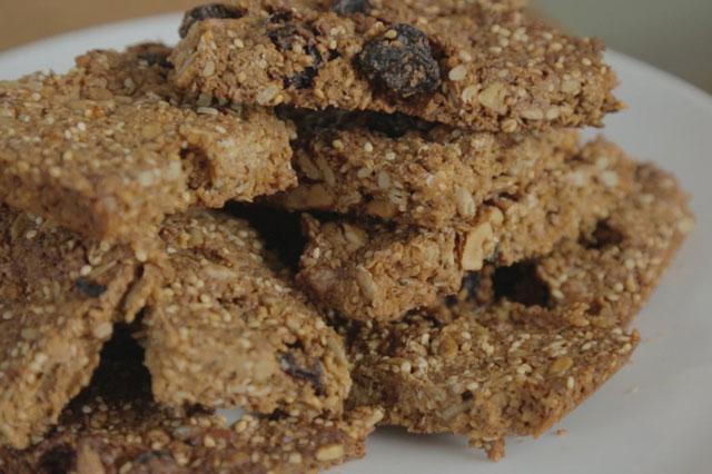 Honey nut cereal bar recipe
