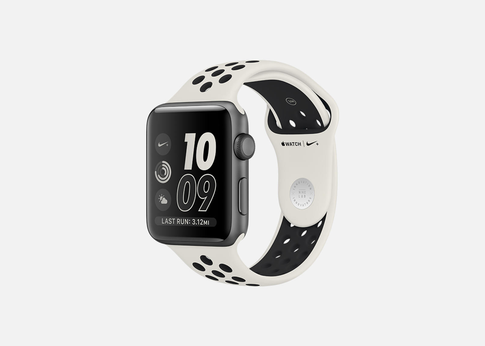 photo image The only thing new about Nike's latest Apple Watch is the band