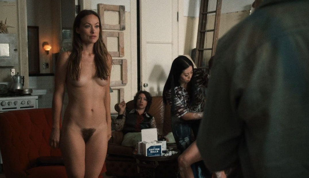 olivia wilde nakde, olivia wilde nude on vinyl