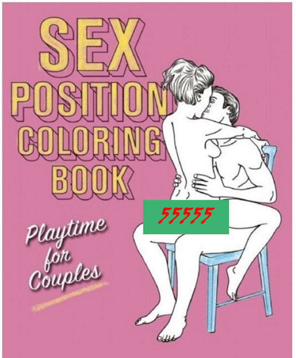 Here's A Sex Positions Coloring Book To Fulfill Your Art Desires