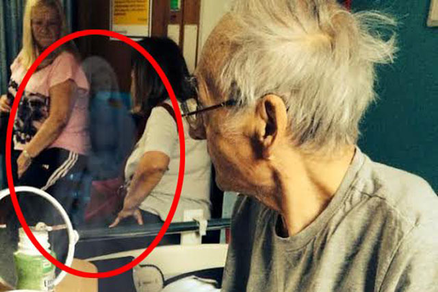 Guardian angel 'ghost' photographed at dying grandfather's bedside