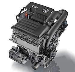 Volkswagen 1.4-liter turbo four
