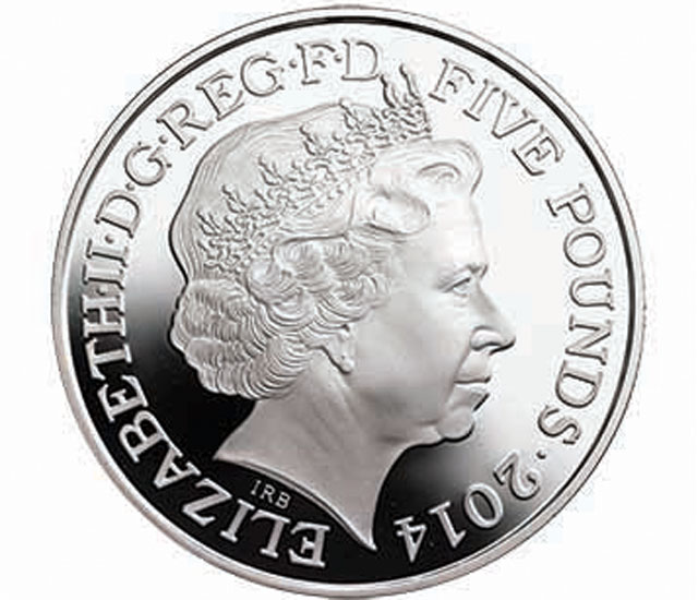 prince george birthday coin