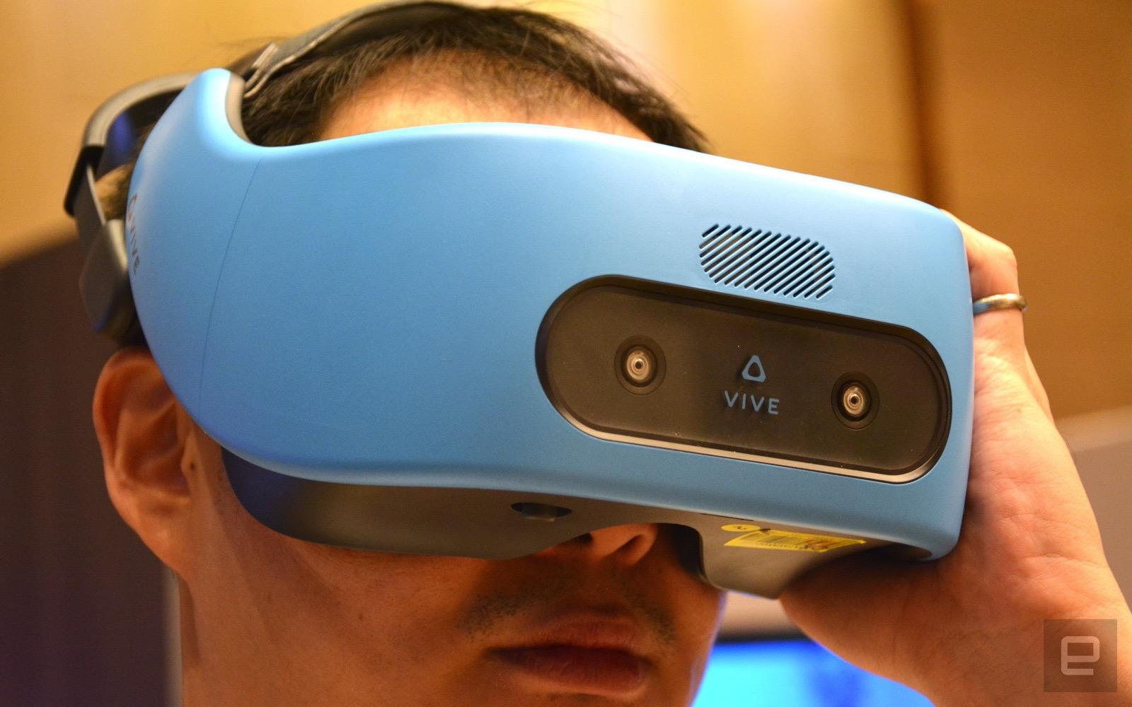 HTC Vive Focus: Standalone-VR-Brille nur für China