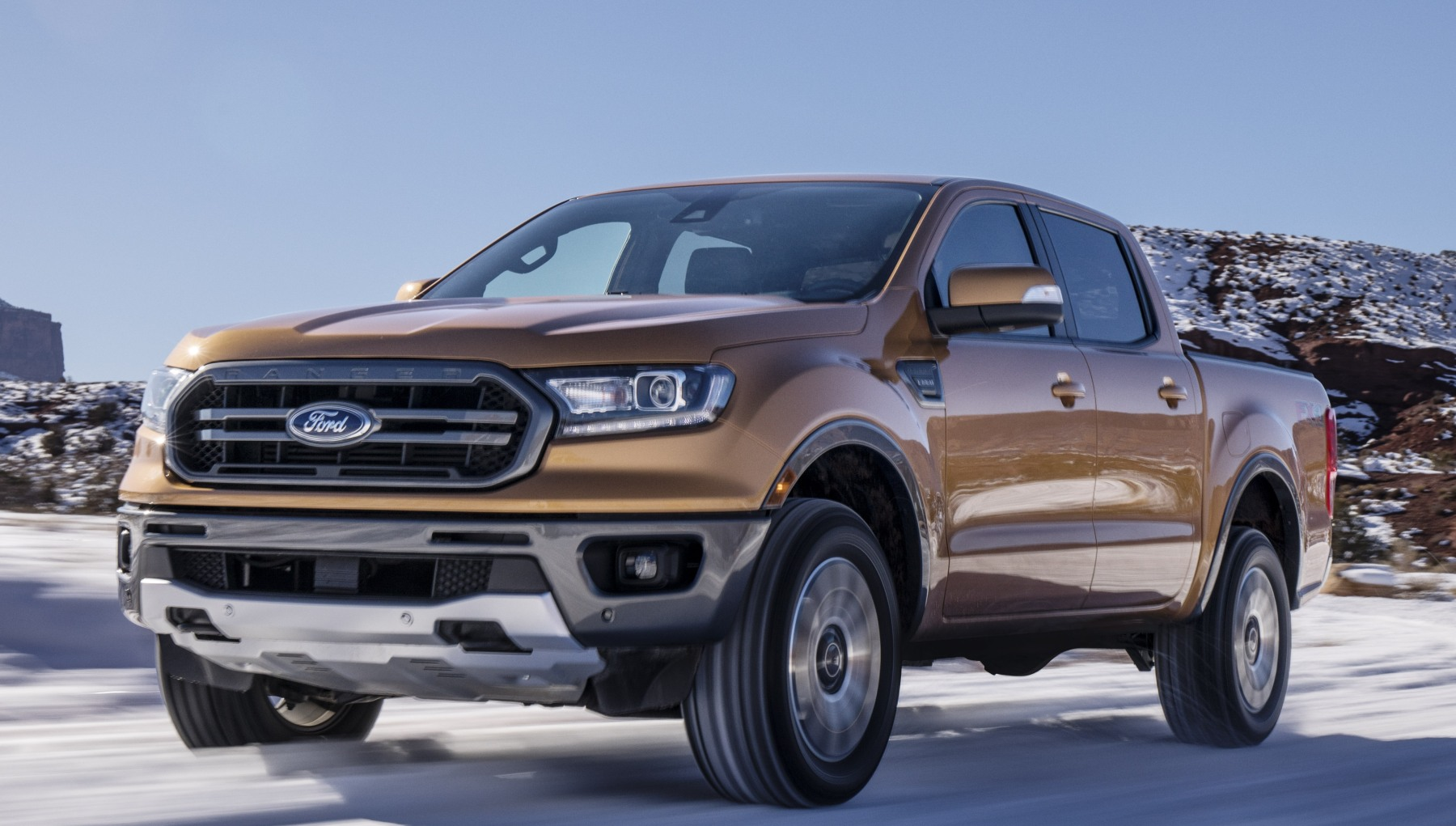photo image Ford's 2019 Ranger unveiled with automatic emergency brakes