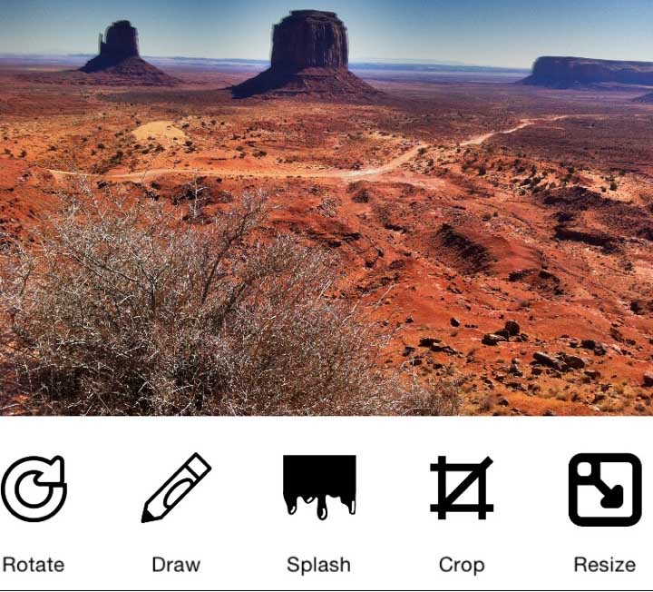 Swipe N Clean: A low-cost and efficient iOS photo editor