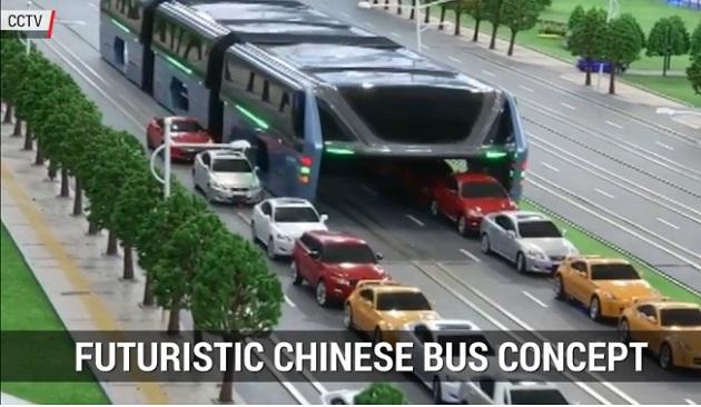 【ビデオ】中国で計画されている1,200人が搭乗可能な超巨大バス!