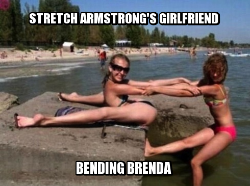 meme contest winners, weekly meme contest, bending over backwards