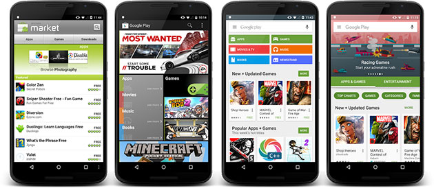 Google Play's pending redesign gets an early tease