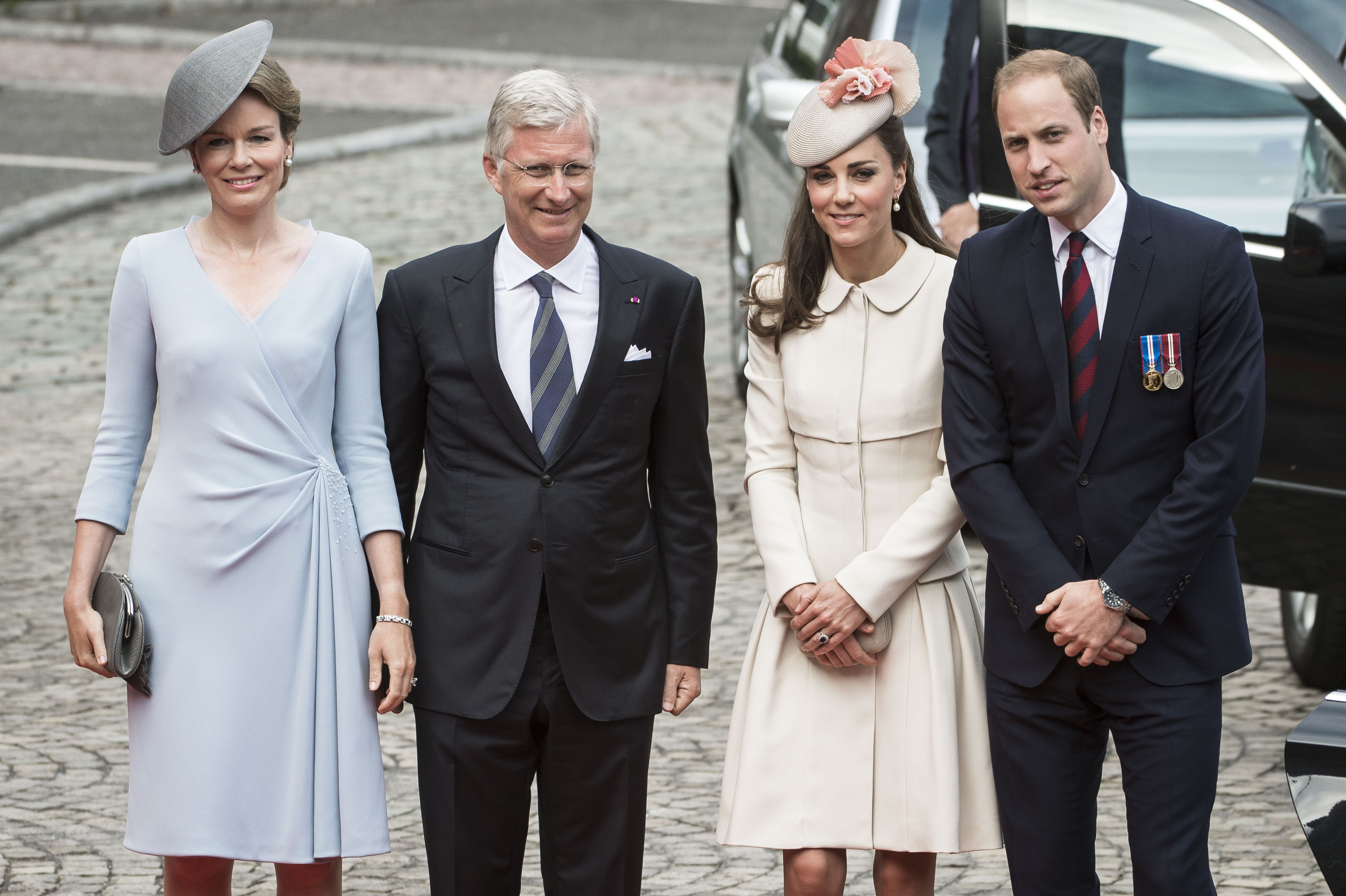 King and Queen of Belgium, Duke and Duchess of Cambridge