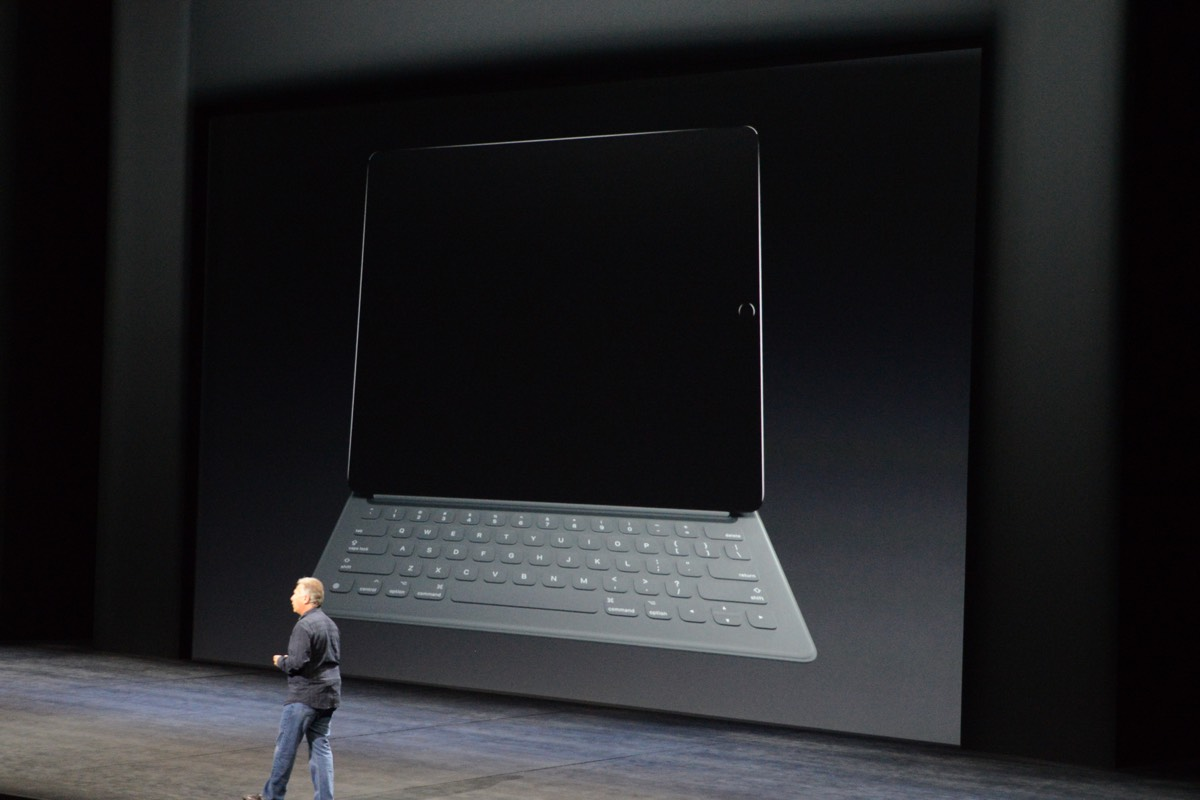 Apple's iPad Pro accessories include a Smart Keyboard and Pencil stylus