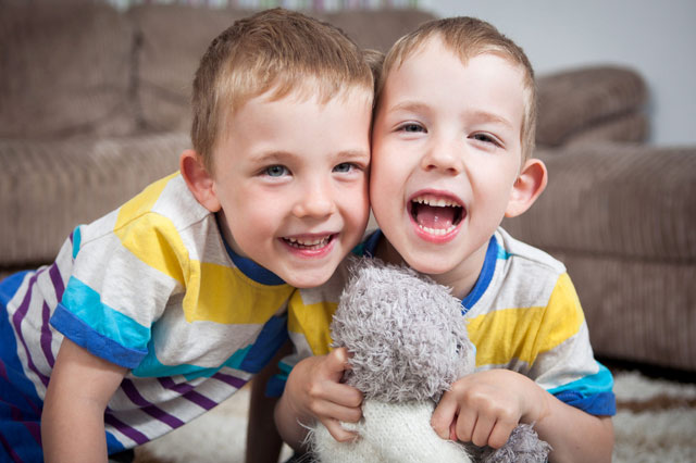 Twin, 5, can play with brother for first time after he gets £45,000 'magic legs'
