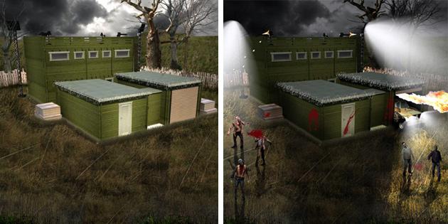 sicher ist sicher fertighaus mit 10 jahres anti zombie garantie engadget deutschland. Black Bedroom Furniture Sets. Home Design Ideas