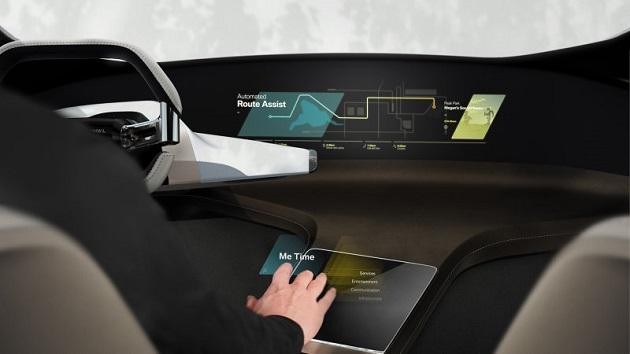 BMW、映画『マイノリティ・リポート』の世界を実現したようなコンセプトインテリア「HoloActive Touch」を発表