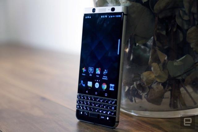 BlackBerry KeyOne erscheint Anfang Mai