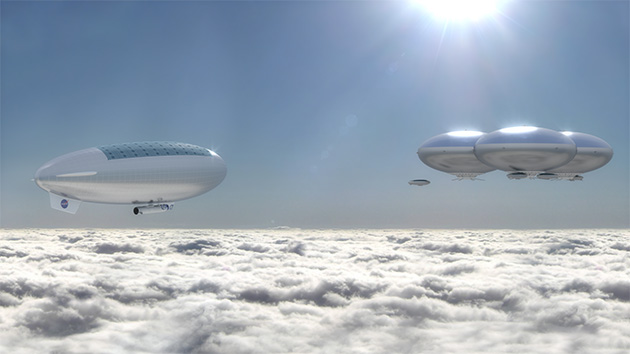 NASA wants to build airship cities in the Venus sky