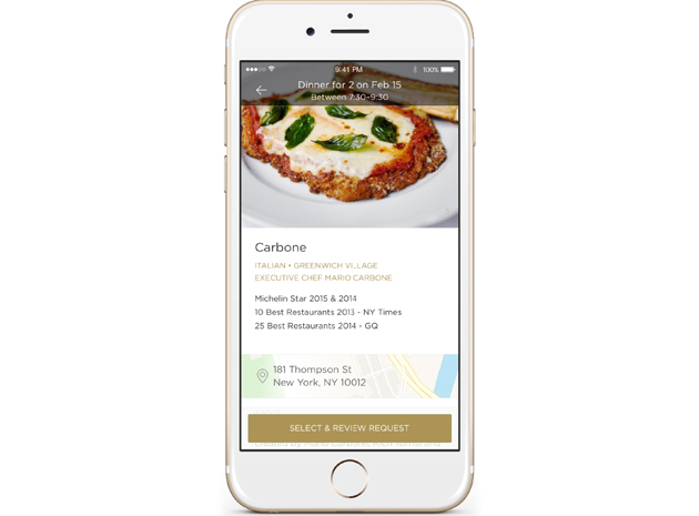 Reserve's restaurant concierge app lets you forget about the bill
