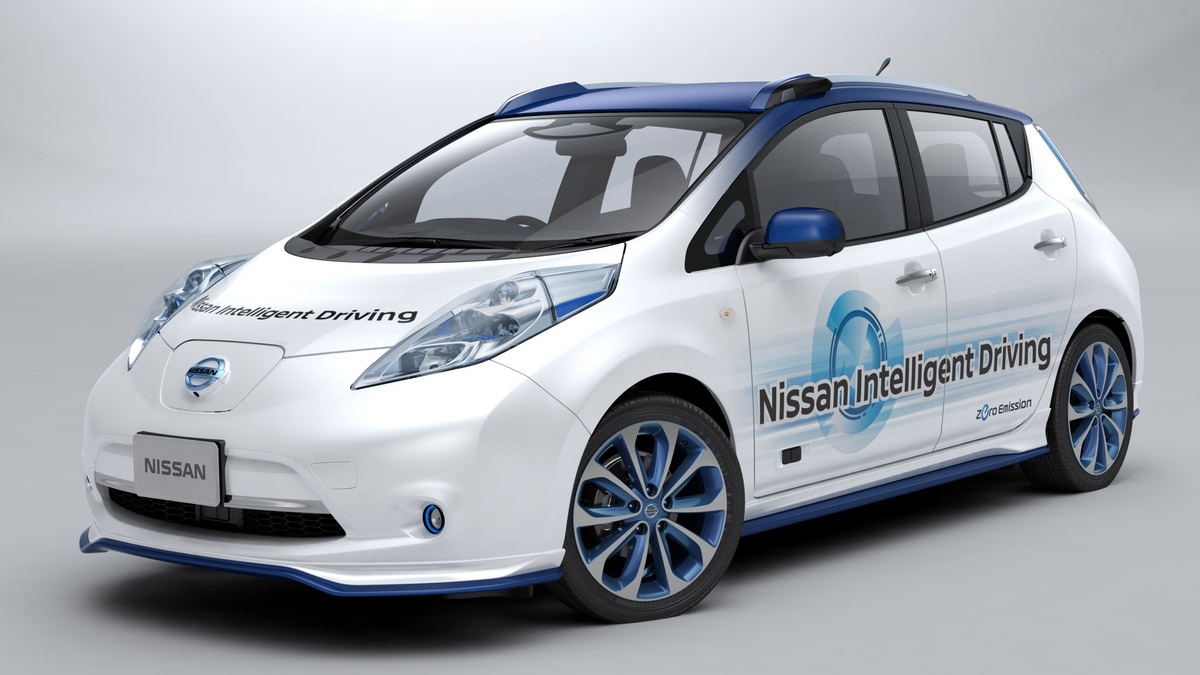 Nissan unleashes its autonomous car prototype in Japan