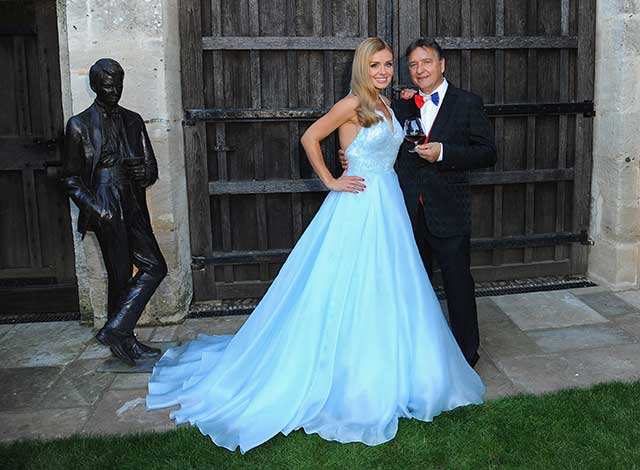 katherine-jenkins-fairytale-dress
