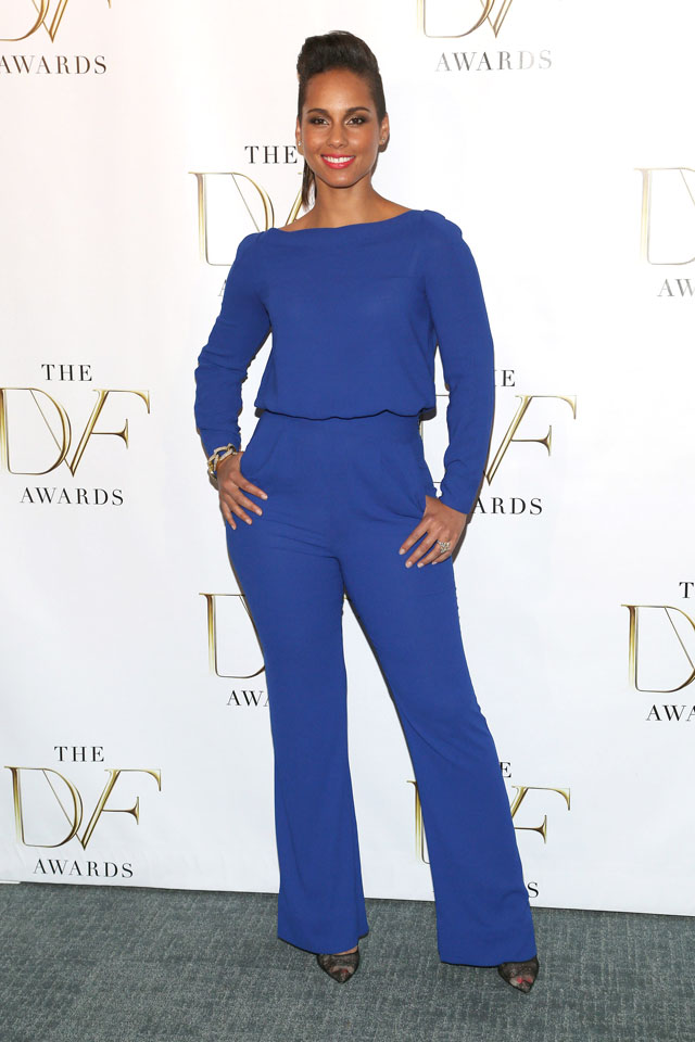 NEW YORK, NY - APRIL 04:  Singer Alicia Keys attends the 2014 DVF Awards at the United Nations on April 4, 2014 in New York City.  (Photo by Paul Zimmerman/WireImage)