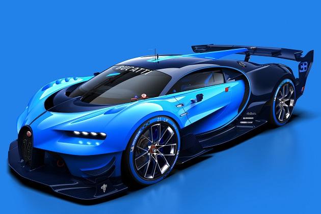 レーシングシーンでの輝かしい歴史と未来の融合! ブガッティの「ビジョン グランツーリスモ」が登場