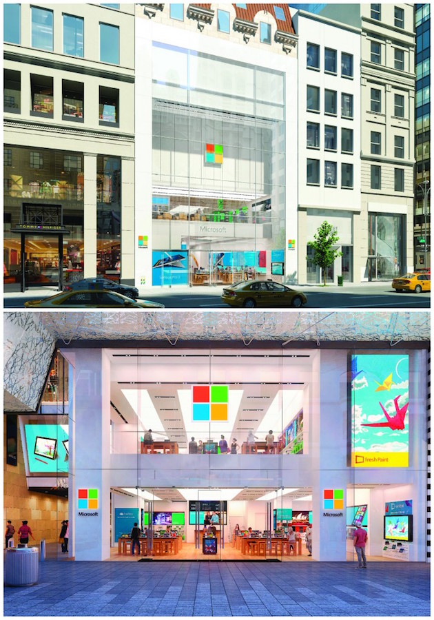 Microsoft's flagship store in NYC opens October 26th