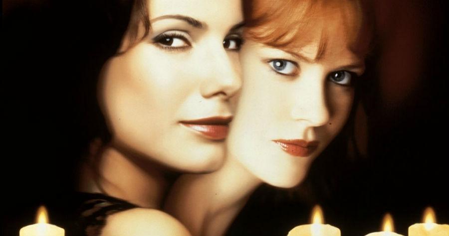 Practical Magic 1998, Sandra Bullock, Nicole Kidman