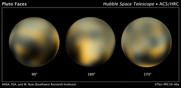 NASA probe snaps Pluto's smallest moons for the first time
