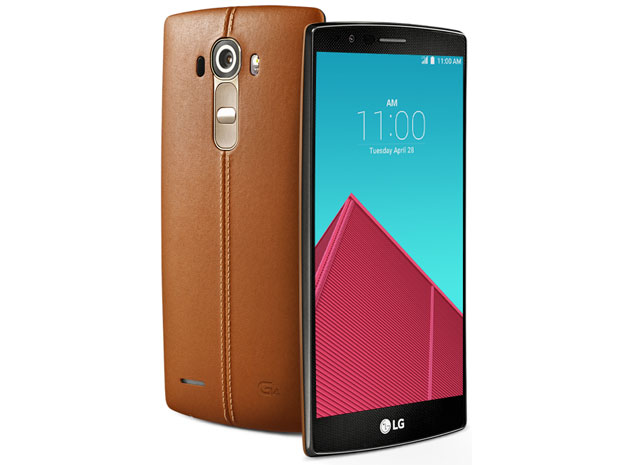LG inadvertently reveals its leather-clad G4 phone a little early