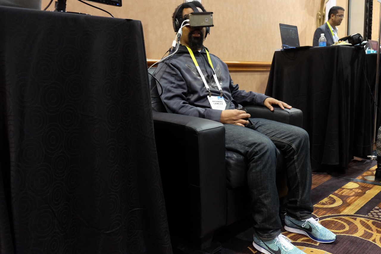 Your couch can become a VR thrill ride with Immersit