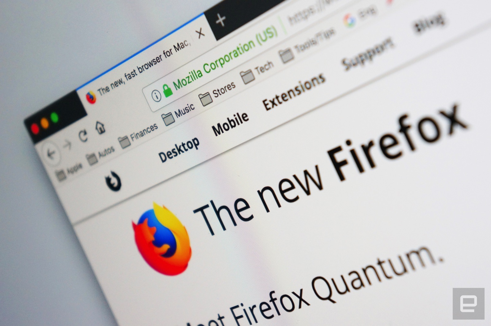 photo image Firefox Quantum is ready to speed up your web browsing