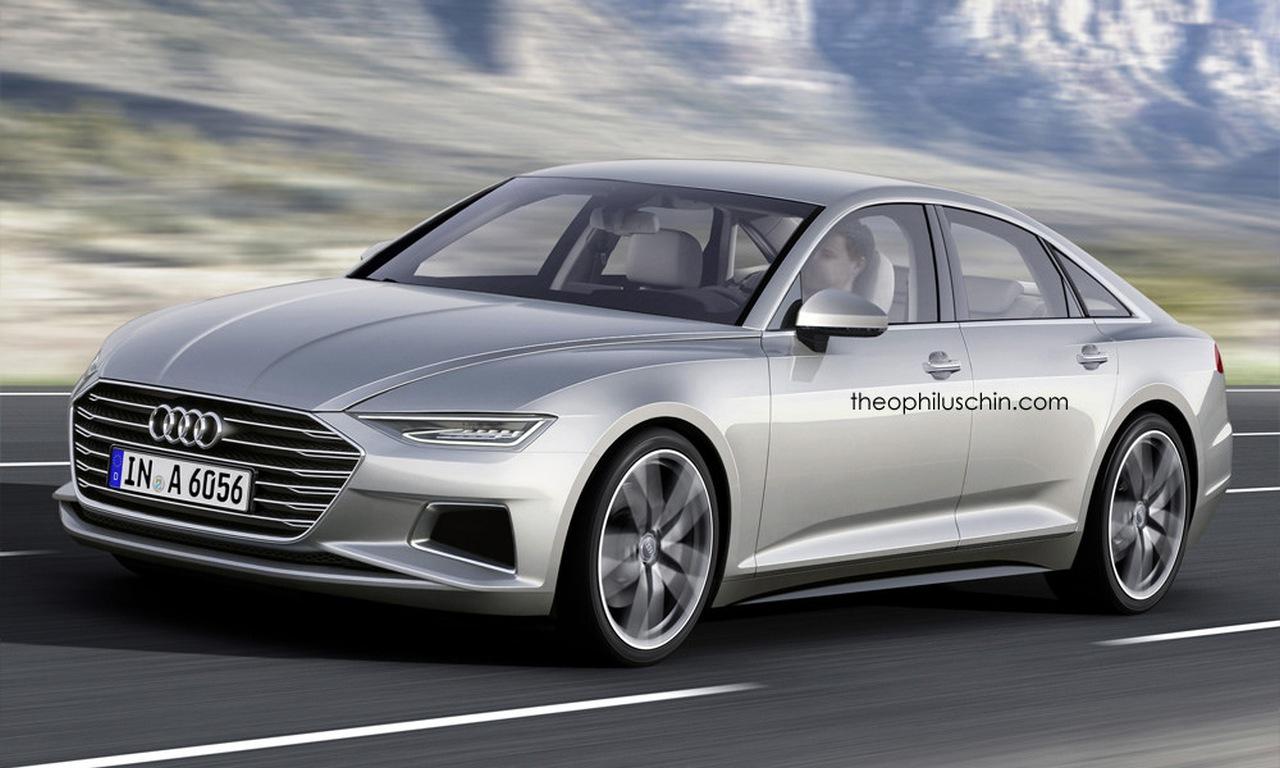 Audi von morgen: So kommt 2017 der neue Audi A6