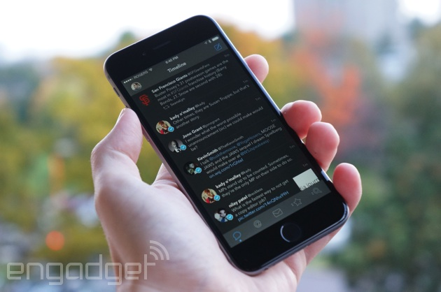 Tweetbot on an iPhone 6