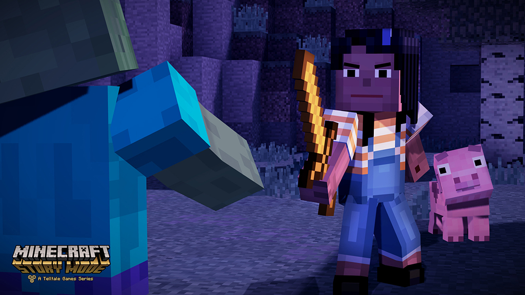 'Minecraft' with a story isn't as weird as you'd think