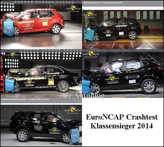 Crashtest: Die sichersten Autos 2014