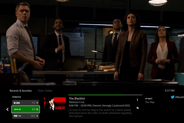 The Xbox One tunes in to free OTA TV in the US and Canada