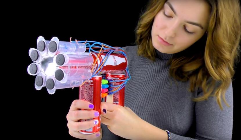 Cola-Kracher: DIY-Pistole aus Dosen und Feuerzeugen