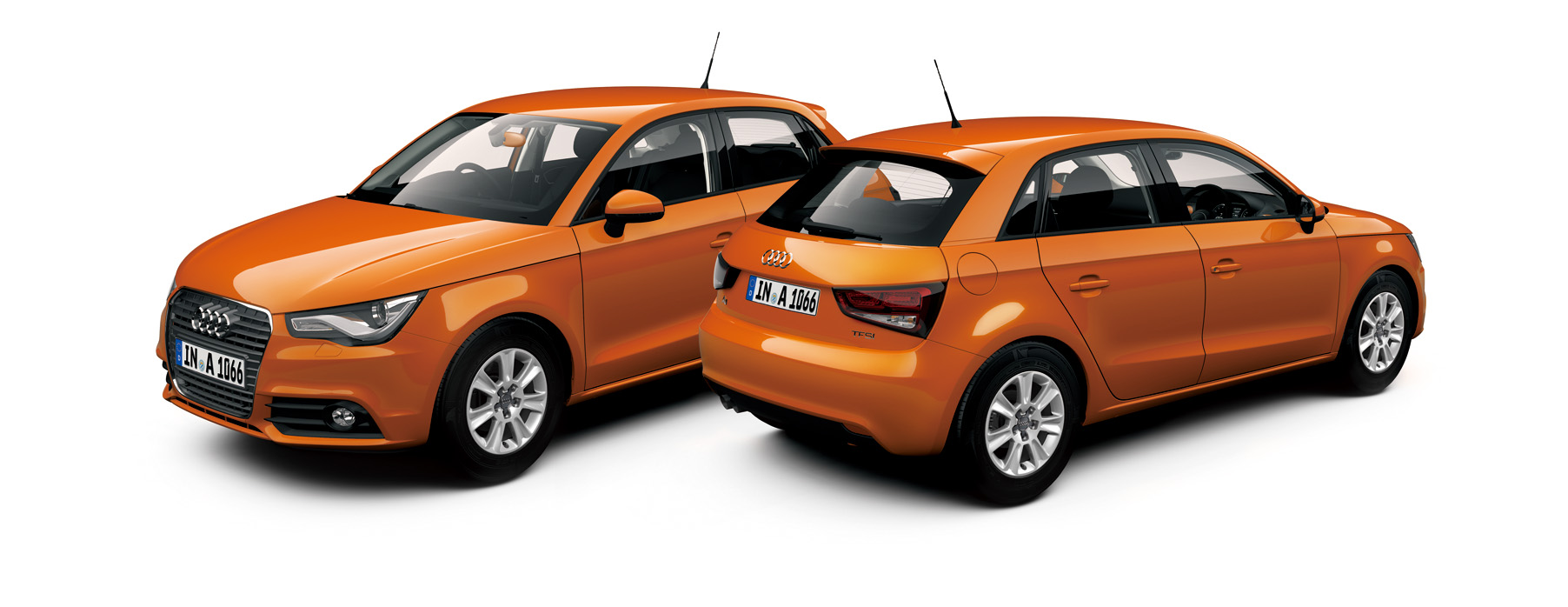 Audi A1 Sportback color selection -