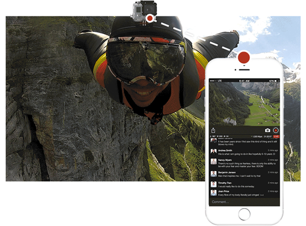 Livestream's new iPhone app lets you broadcast GoPro action without a PC