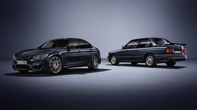 BMW、「M3」誕生30周年を記念した特別モデル「30 Jahre M3」150台を米国で発売
