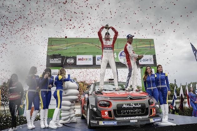 シトロエン、世界ラリー選手権で「C3 WRC」が初優勝!