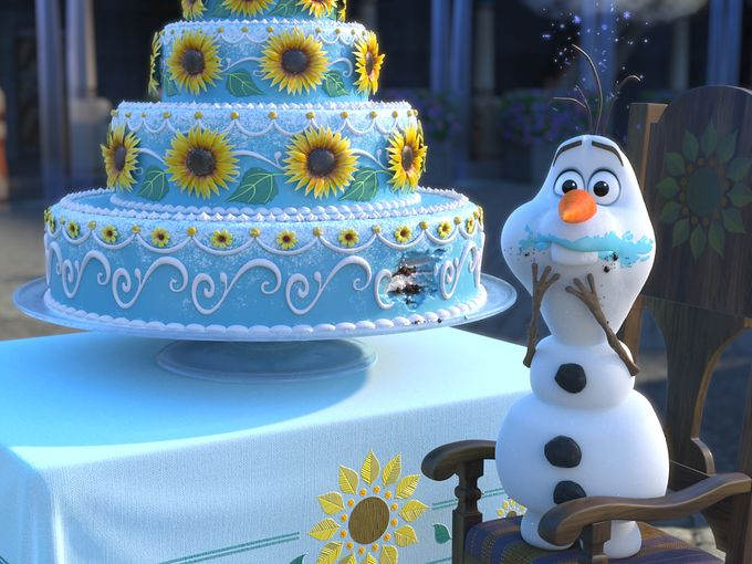 New photos released: Frozen Fever to be screened in UK on April 3