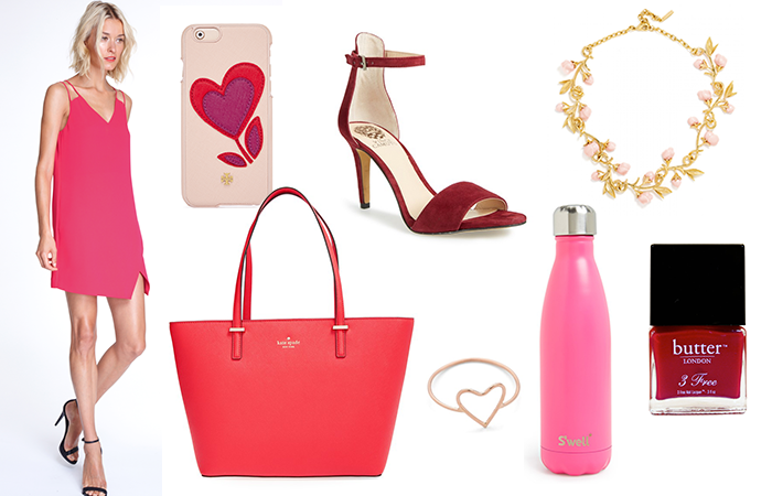 Everything pink and red you need for Valentine's Day