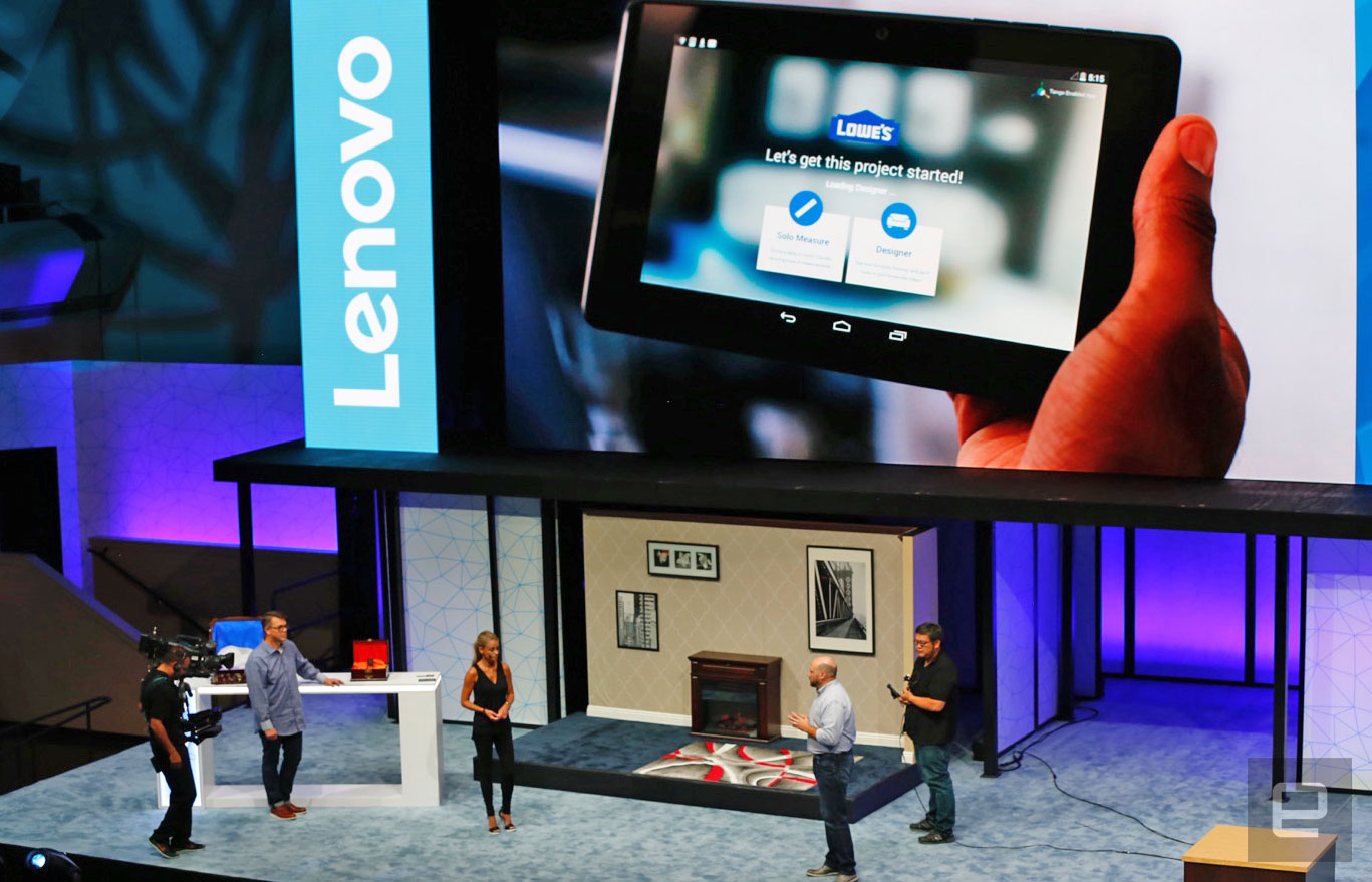 Lowe's has a Tango AR app for home improvement projects