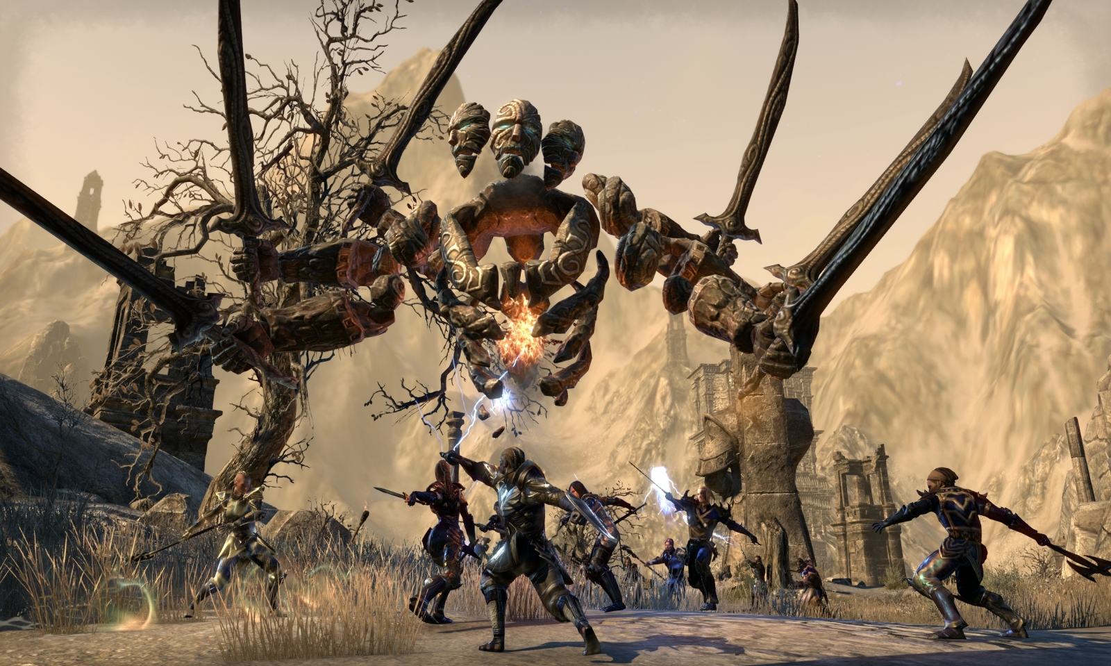 The Elder Scrolls Online expounds on Craglorn's 12-man trials