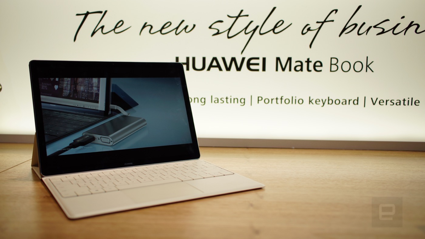 Huawei MateBook: Un Surface súper delgado (¡Vídeo!)