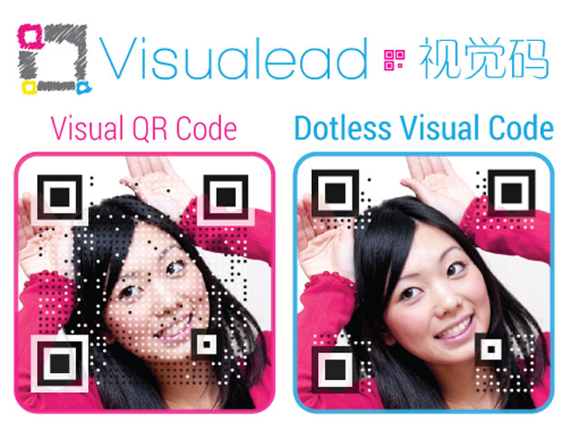 Visuallead's dotless visual code